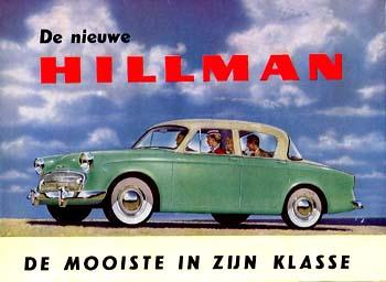1957 Hillman Minx Series I