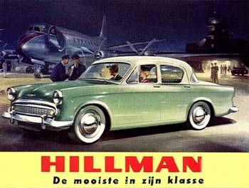 1957 Hillman Minx Series IIa
