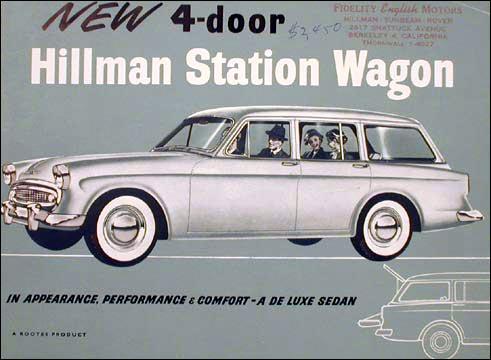 1957 hillman station wagon