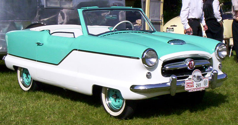 1957 Hudson badged Metropolitan Convertible