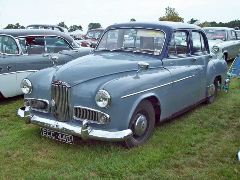 1957 Humber Hawk VI Engine 2267cc S4
