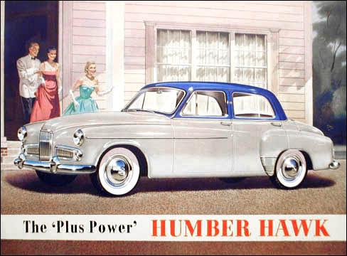 1957 humber hawk