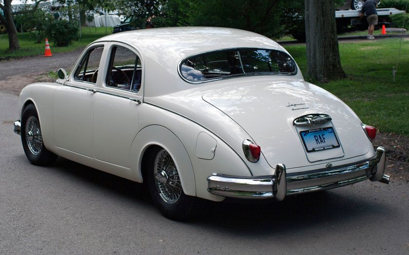 1957 Jaguar 3.4 automatic