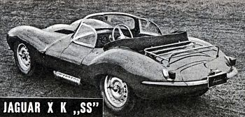 1957 jaguar xk ss tyl