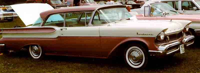 1957 Mercury Monterey coupe