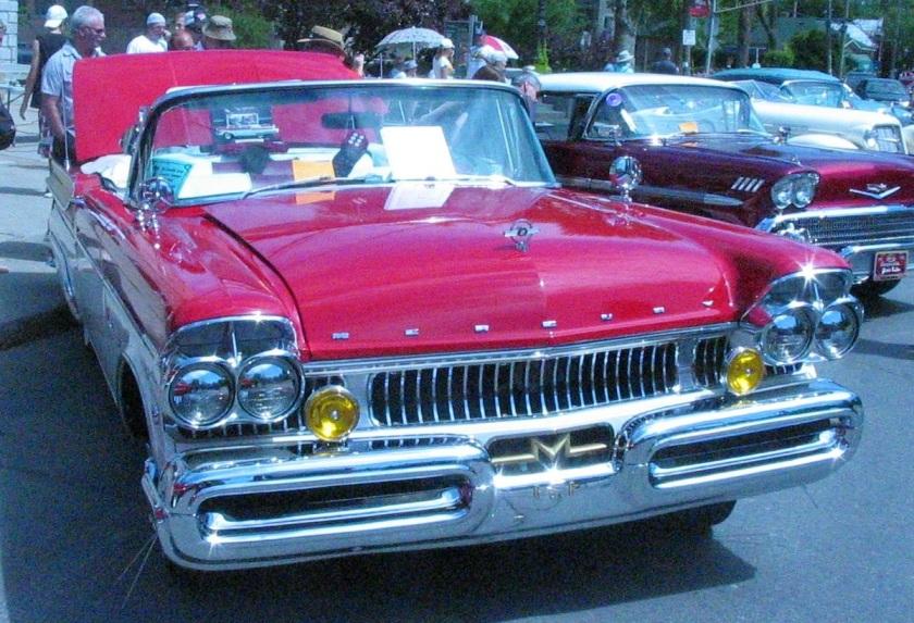 1957 Mercury Turnpike Cruiser cabriolet