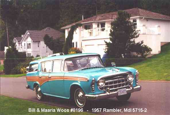 1957 Nash Rambler Custom Station Wagon