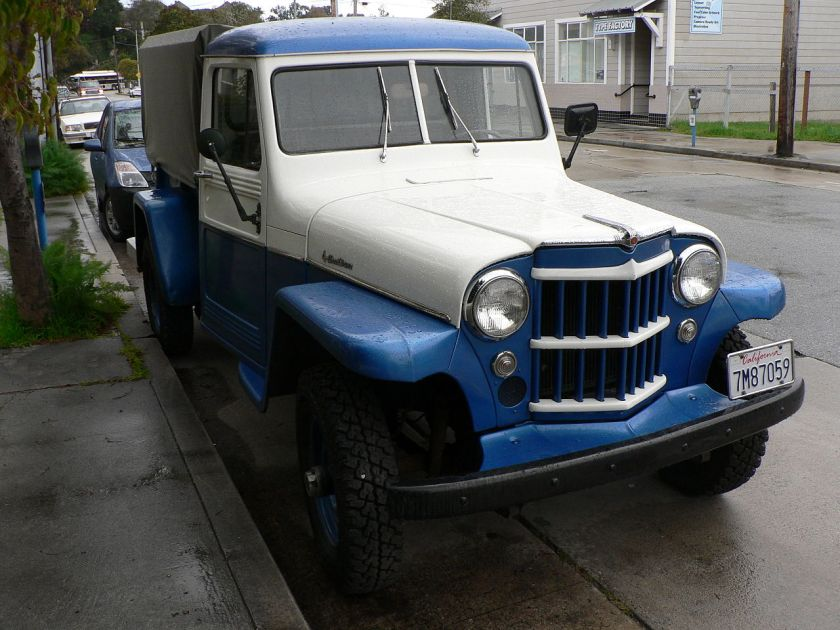 1957 Willys pickup (four-wheel drive)