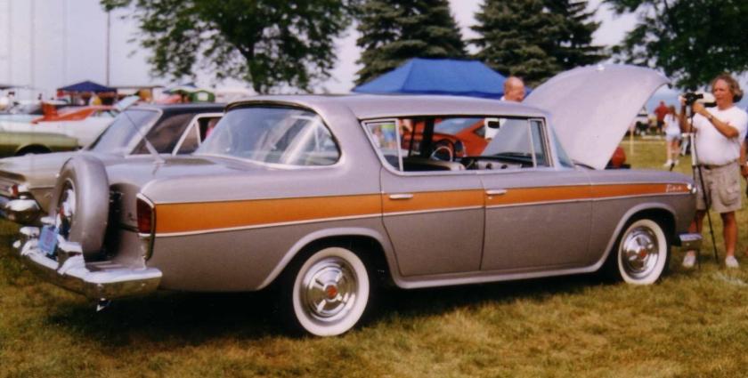 1957_Rambler_Rebel_rear Muscle car Pillarless AMC