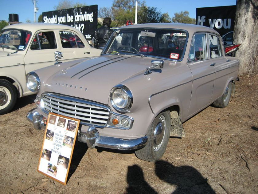 1958-1964 Standard_Vanguard_Vignale_Six