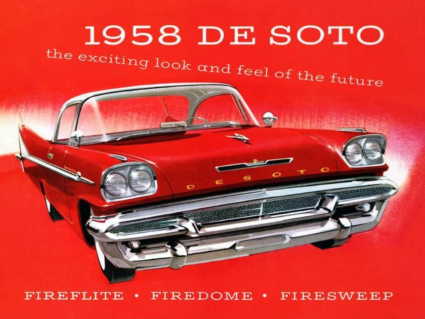1958 De Soto Ad
