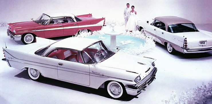 1958 de soto firedome sed+firesweep sed+fireflite