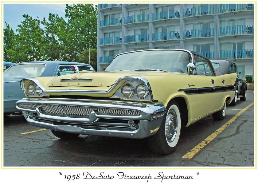 1958 DeSoto Firesweep 4 door Sportsman