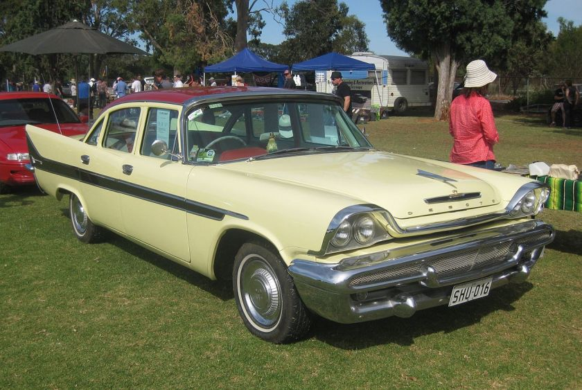 1958 DeSoto Firesweep Sedan Australian produced