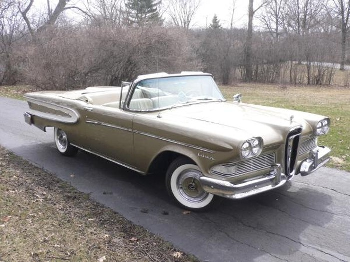 1958 Edsel Citations convertible