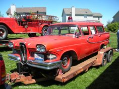 1958 Edsel Fire Chief's Wagon