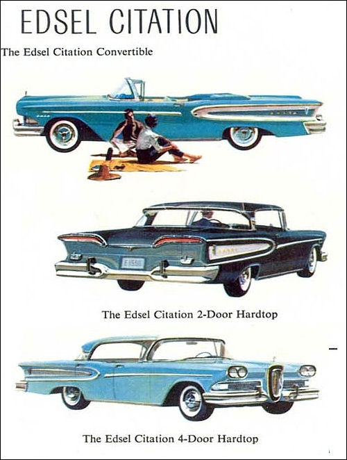 1958 Edsel fold out 2