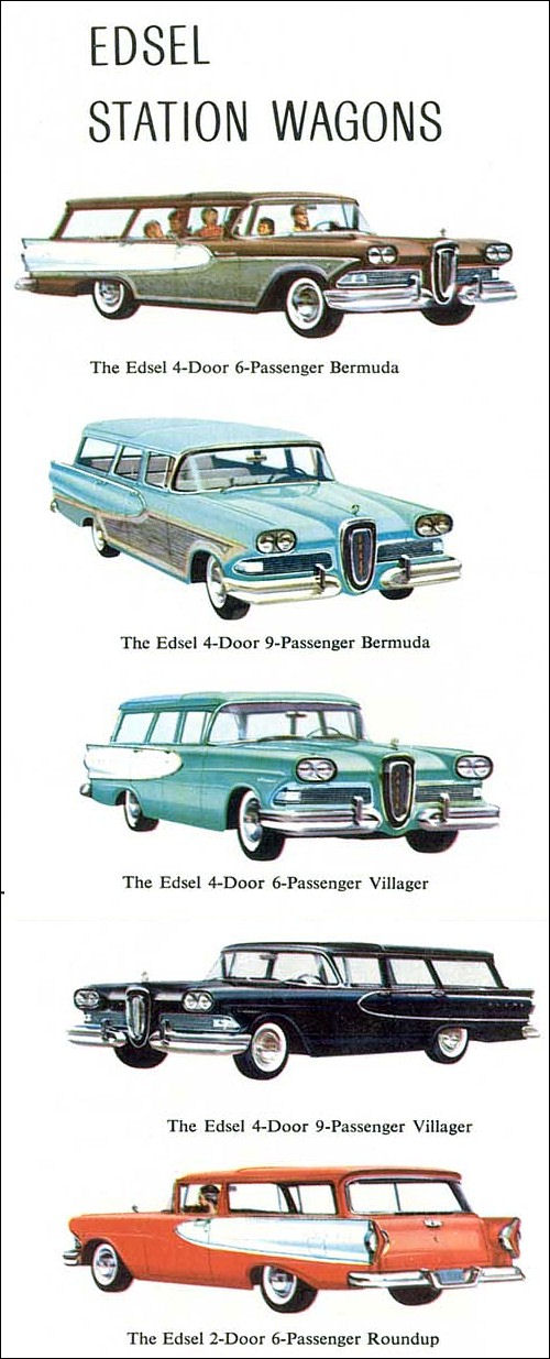 1958 Edsel fold out