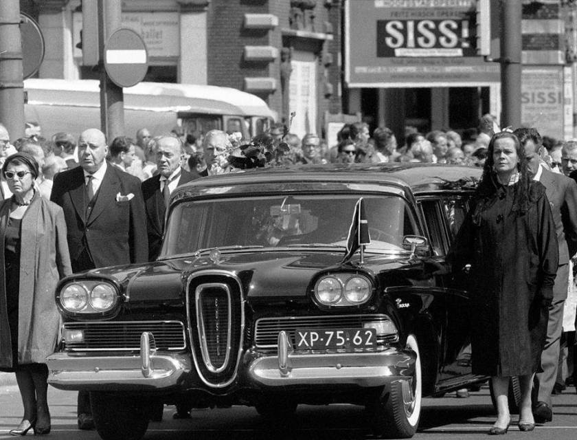 1958 Edsel Hearse in the Netherlands