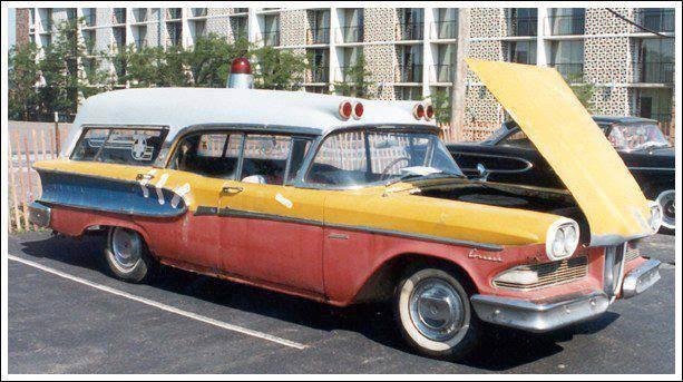 1958 Edsel Memphisian Ambulance