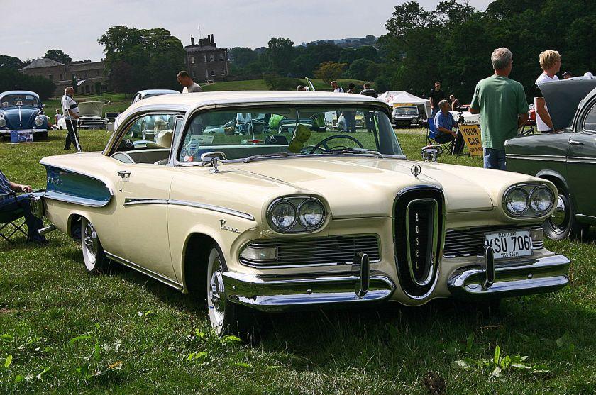 1958 Edsel Pacer 2-door Hardtop front