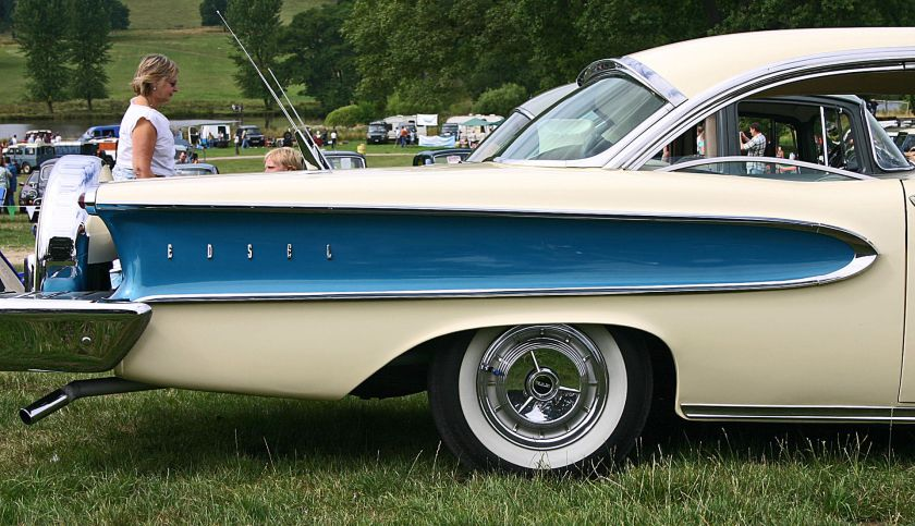 1958 Edsel Pacer rear quarter wing