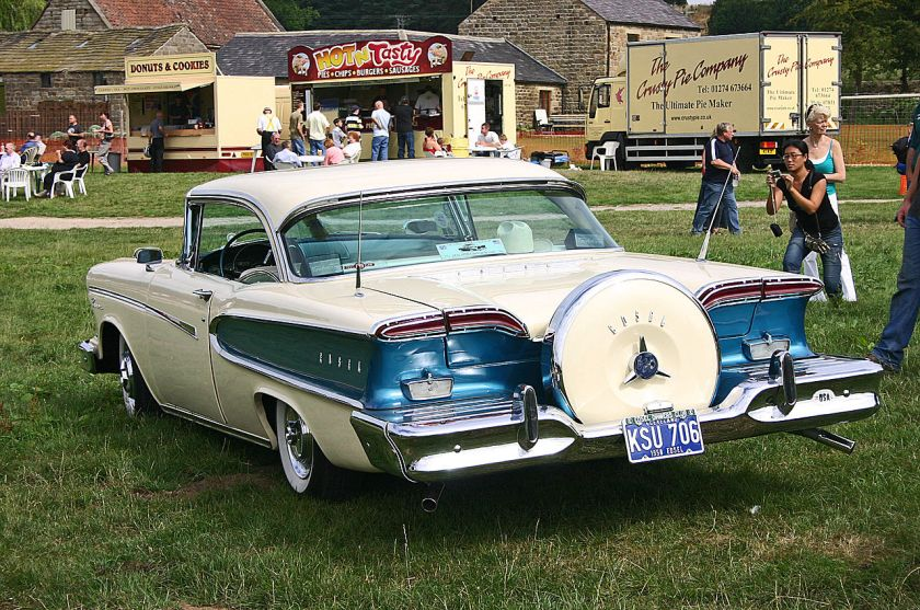 1958 Edsel Pacer rear