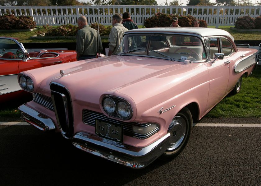 1958 Edsel Ranger 4-Door Sedan. The Ranger was produced by the former Mercury-Edsel-Lincoln Division of the Ford Motor Company for the 1958, 1959 and 1960 model years.