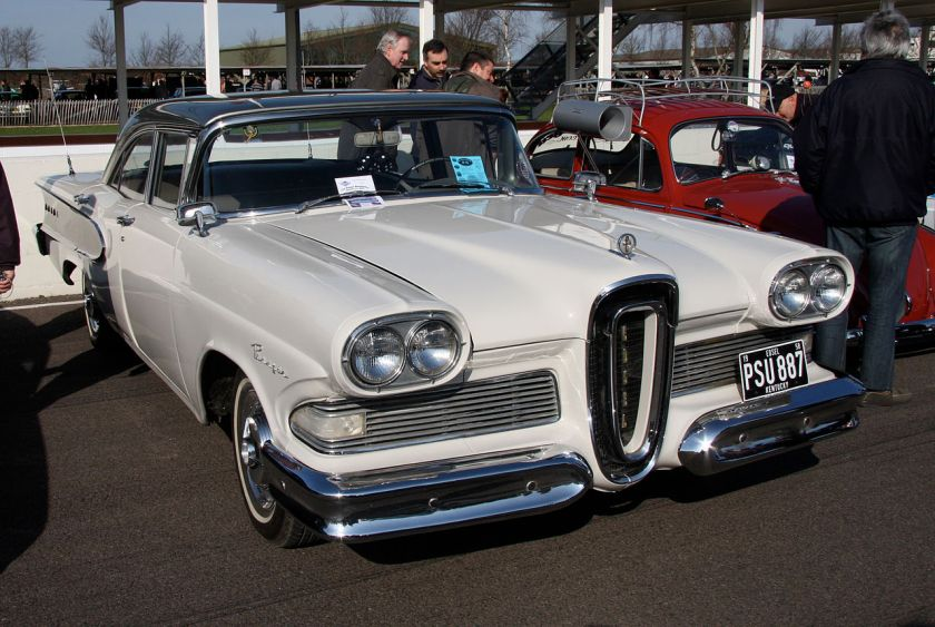 1958 Edsel Ranger 4-Door Sedan.