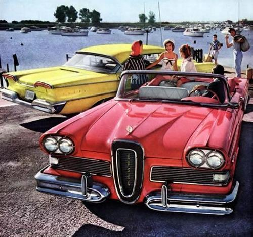 1958 Edsel Red Cv ad