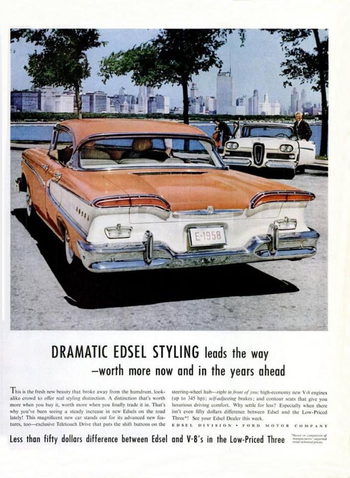 1958 Edsel V8