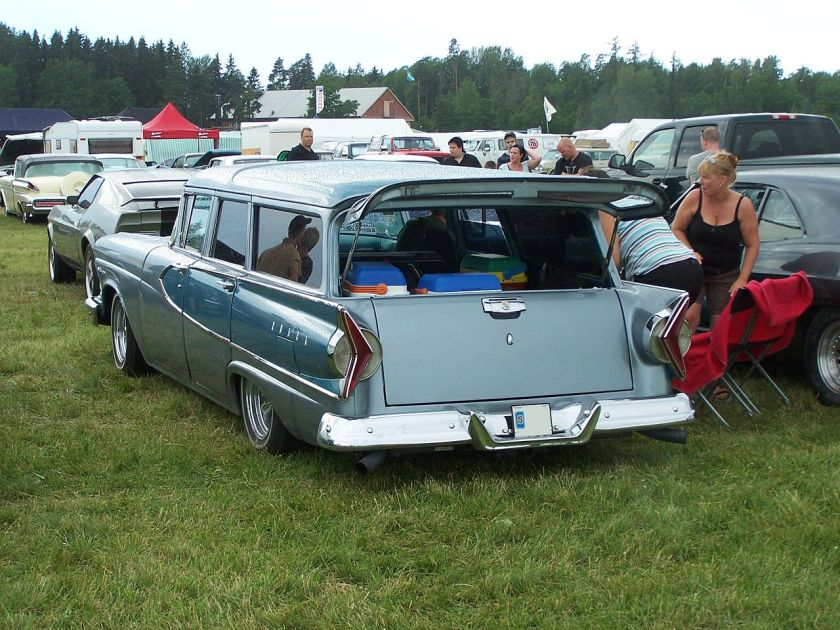 1958 Edsel Villager 4-dr wagon