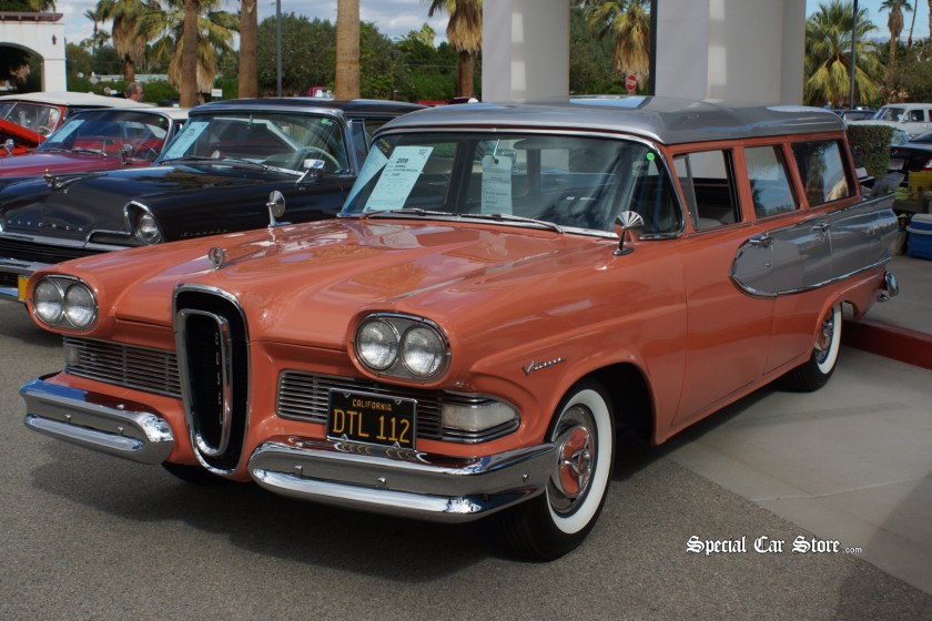 1958 Ford Edsel Station Wagon, McCormicks Palm Springs Auction 53