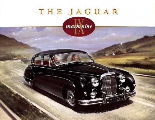 1958 jaguar mk9 59 1 l