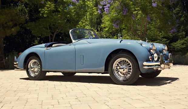 1958 Jaguar XK 150 3,4 S roadster