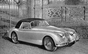 1958 Jaguar XK 150 Drophead Coupé