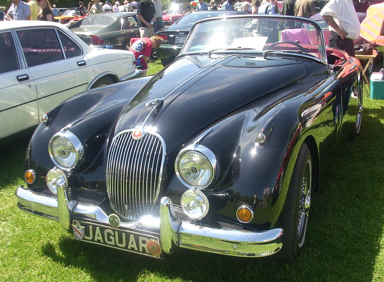 Jaguar Cars Whitley Coventry England Uk At Start Now From Tata Wiring Diagrams 1957 Xk140 1958 Xk150 Roadster