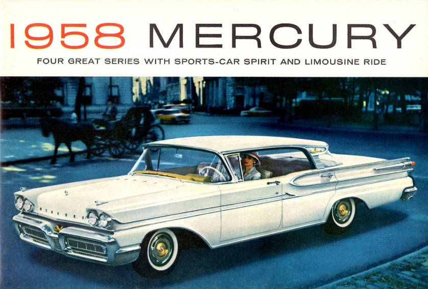 1958 Mercury Park Lane Phaeton Sedan 4-Door Hardtop
