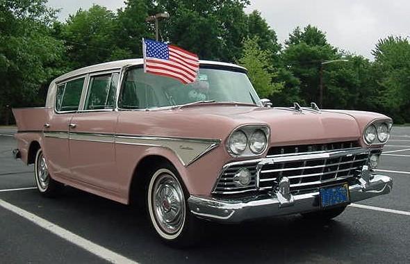 1958 Rambler sedan