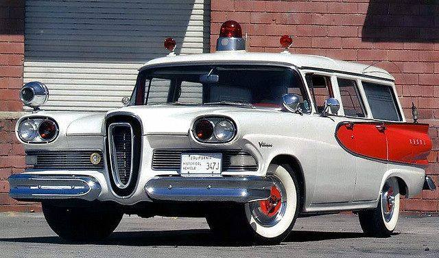 1958 Super Edsel ambulance