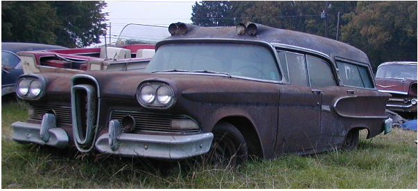 1958 Super Edsel Hearse