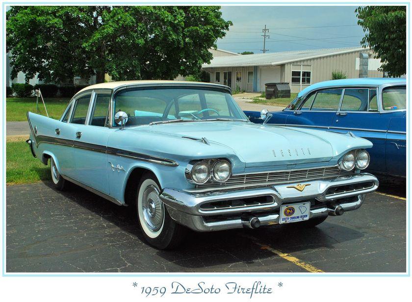 1959 DeSoto Fireflite 4-Door Sedan