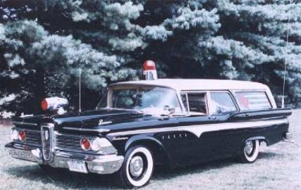 1959 Edsel ambulance a