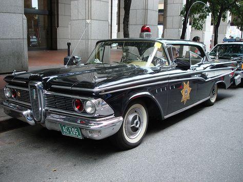 1959 Edsel Police Car a.