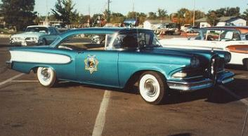 1959 Edsel Police car blue
