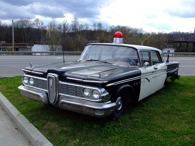 1959 Edsel Police Car