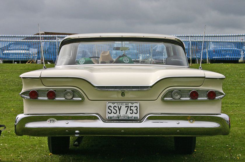 1959 Edsel Ranger 2door Hardtop tail