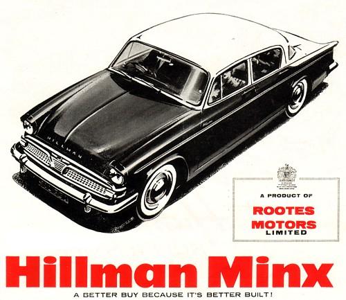 1959 hillman minx iiia