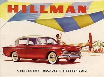 1959 Hillman Minx Series IIIb