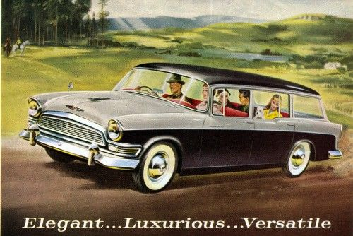 1959 humber super snipe estate ad